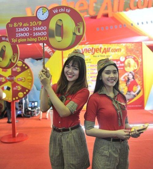 Vietjet nổi bật tại Hội chợ du lịch quốc tế TP.HCM 2016 - Ảnh 11