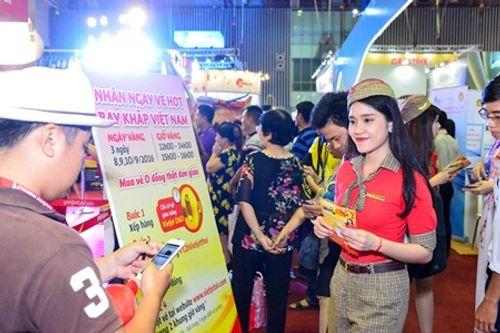 Vietjet nổi bật tại Hội chợ du lịch quốc tế TP.HCM 2016 - Ảnh 6