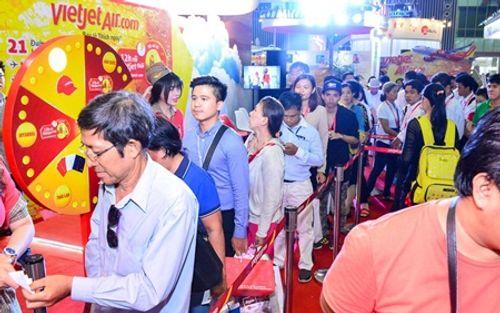 Vietjet nổi bật tại Hội chợ du lịch quốc tế TP.HCM 2016 - Ảnh 7