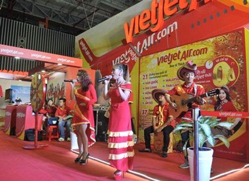 Vietjet nổi bật tại Hội chợ du lịch quốc tế TP.HCM 2016 - Ảnh 8