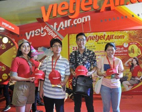 Vietjet nổi bật tại Hội chợ du lịch quốc tế TP.HCM 2016 - Ảnh 9