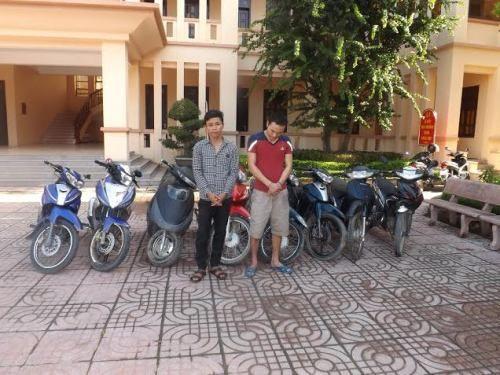 Nhóm đạo chích khoắng xe máy khắp huyện - Ảnh 1
