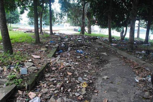 Nghệ An: Công viên hàng chục tỷ trở thành... phế tích - Ảnh 5