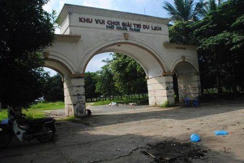 Nghệ An: Công viên hàng chục tỷ trở thành... phế tích - Ảnh 1