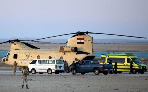 Ai Cập mở rộng phạm vi tìm kiếm thi thể nạn nhân máy bay Nga  - Ảnh 2