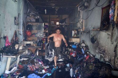 TP HCM: Cháy kho hàng trên đường Bến Bình Đông, 1 phụ nữ tử vong - Ảnh 2