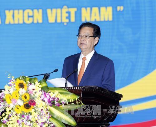 Thủ tướng dự Lễ hưởng ứng Ngày Pháp luật Việt Nam 2015  - Ảnh 1