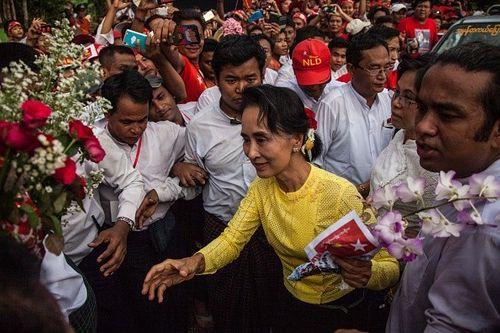 Myanmar: Bà Aung San Suu Kyi đắc cử Hạ nghị sĩ  - Ảnh 1