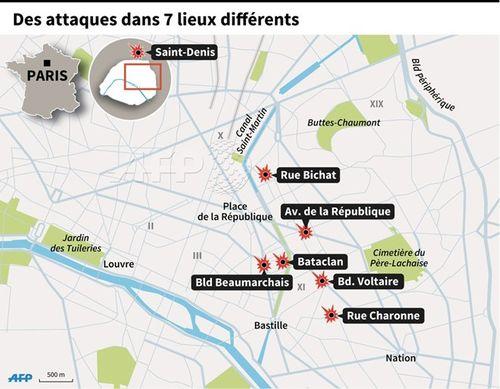 Khủng bố kinh hoàng tại Paris: Ít nhất 158 người thiệt mạng - Ảnh 5