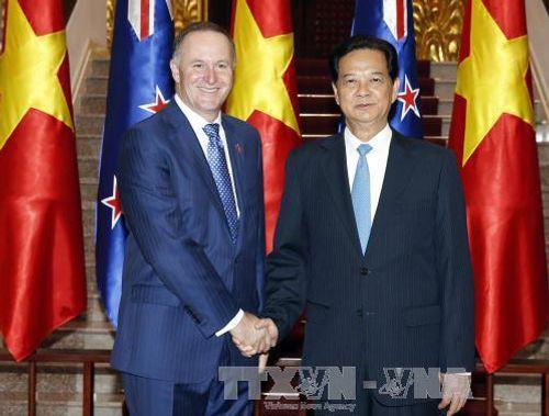Thủ tướng Nguyễn Tấn Dũng hội đàm với Thủ tướng New Zealand  - Ảnh 1