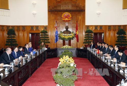 Thủ tướng Nguyễn Tấn Dũng hội đàm với Thủ tướng New Zealand  - Ảnh 2