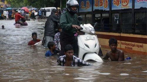 Mưa lớn tại Ấn Độ khiến 70 người thiệt mạng - Ảnh 1