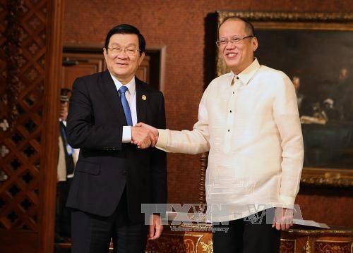 Thiết lập quan hệ đối tác chiến lược Việt Nam - Philippines  - Ảnh 1