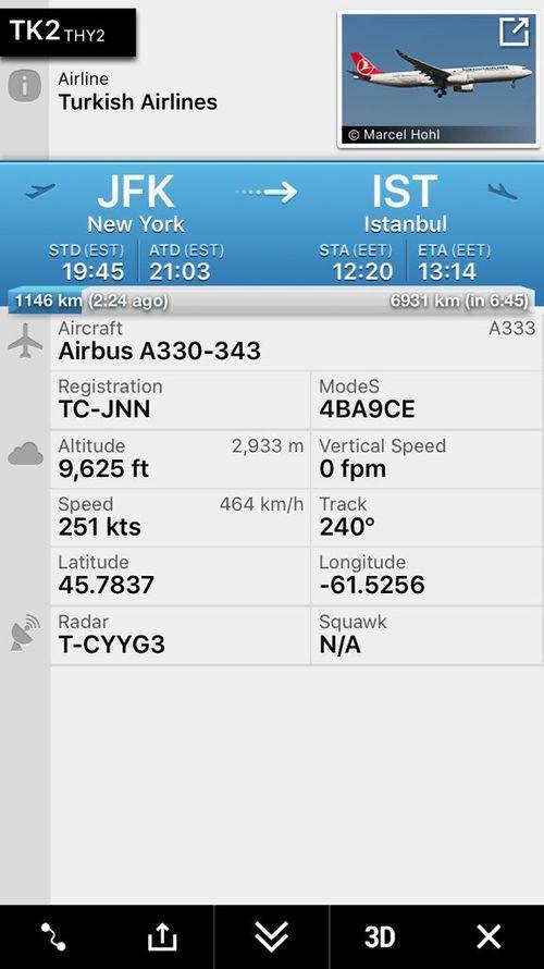 Bị dọa đánh bom, máy bay đến Thổ Nhĩ Kỳ hạ cánh khẩn cấp ở Canada - Ảnh 2