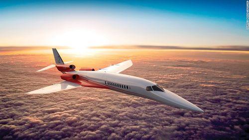 Lần đầu tiên xuất hiện máy bay phản lực sóng siêu thanh - Ảnh 2