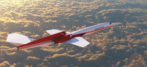 Lần đầu tiên xuất hiện máy bay phản lực sóng siêu thanh - Ảnh 1