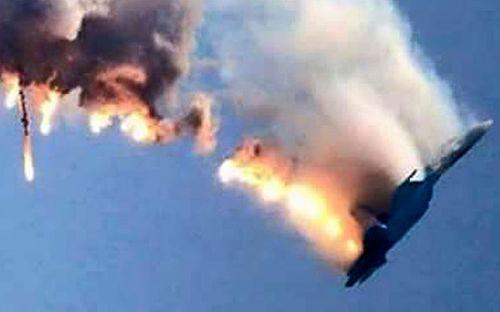 Chiến đấu cơ Nga bị bắn: Phiến quân Syria tung đoạn video tìm thấy phi công Nga - Ảnh 1