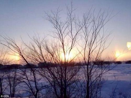 Ngỡ ngàng 3 Mặt trời xuất hiện cùng lúc khiến người xem thích thú  - Ảnh 5