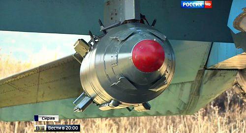 Sức hủy diệt của siêu bom KAB-1500 Nga sử dụng để không kích IS - Ảnh 1