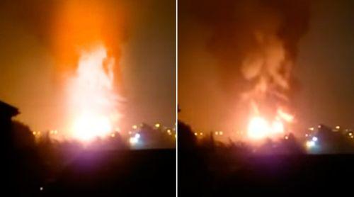 Cháy lớn ở trung tâm phía tây London - Ảnh 1