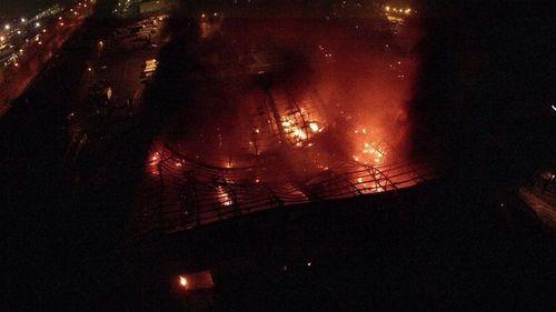Cháy lớn ở trung tâm phía tây London - Ảnh 3