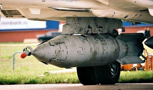 Sức hủy diệt của siêu bom KAB-1500 Nga sử dụng để không kích IS - Ảnh 2