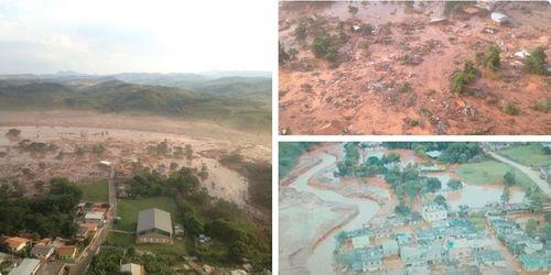 Vỡ đập tại Brazil, ít nhất 60 người thiệt mạng và mất tích - Ảnh 1