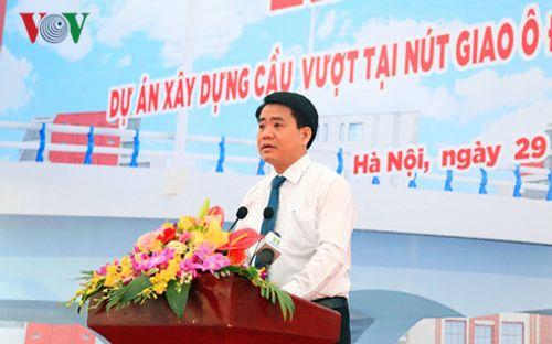 Hà Nội xây dựng cầu vượt tại nút giao Ô Đông Mác - Nguyễn Khoái - Ảnh 2