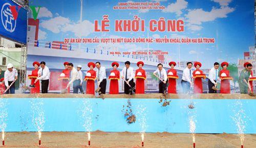 Hà Nội xây dựng cầu vượt tại nút giao Ô Đông Mác - Nguyễn Khoái - Ảnh 3
