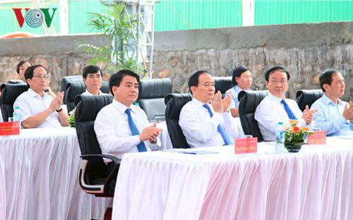 Hà Nội xây dựng cầu vượt tại nút giao Ô Đông Mác - Nguyễn Khoái - Ảnh 1