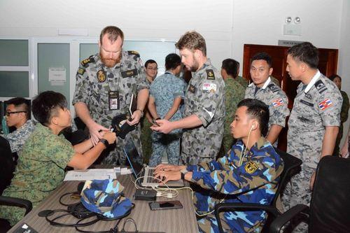 Khai mạc cuộc tập trận ADMM+ chống khủng bố tại Brunei - Ảnh 1