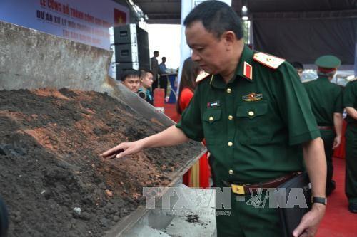 Kết quả xử lý đất nhiễm dioxin tại Sân bay Đà Nẵng  - Ảnh 2
