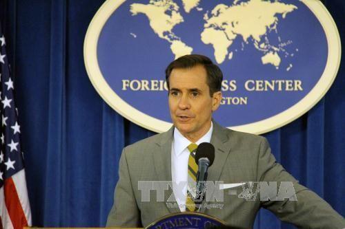 Mỹ ủng hộ phán quyết của PCA về Biển Đông - Ảnh 1