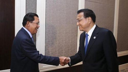 Hé lộ chi tiết bị lược trong cuộc gặp Lý Khắc Cường - Hun Sen - Ảnh 1