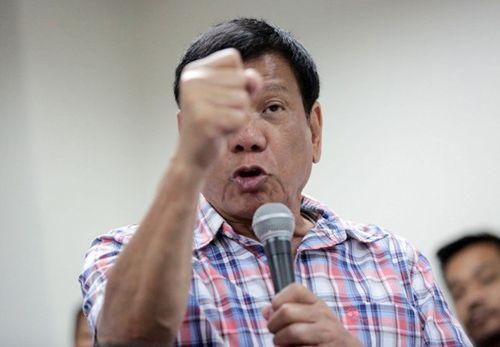 Tổng thống Philippines dằn mặt 'trùm ma túy' - Ảnh 1