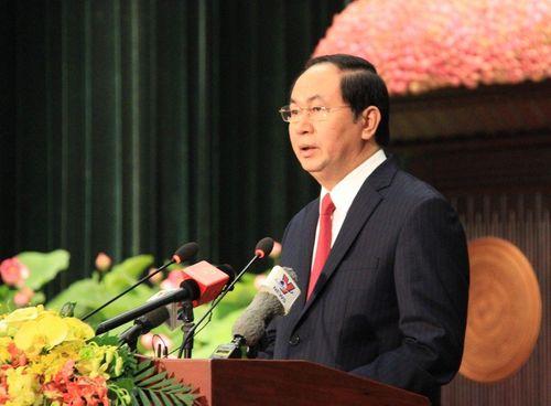 Chủ tịch nước mong TP.HCM sẽ thành trung tâm kinh tế lớn - Ảnh 1