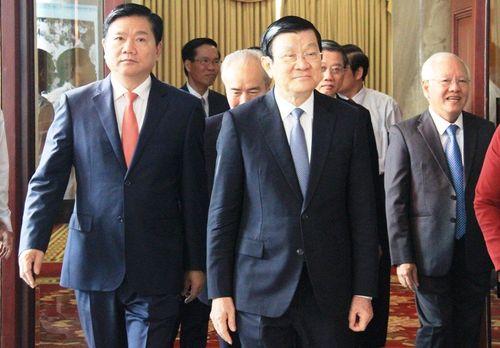 Chủ tịch nước mong TP.HCM sẽ thành trung tâm kinh tế lớn - Ảnh 3