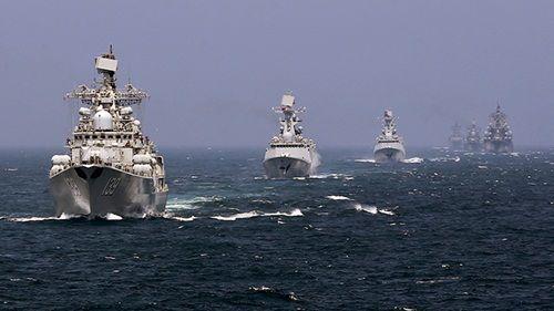 """Vì sao Trung Quốc nỗ lực """"lôi kéo"""" thêm """"đồng minh"""" cùng tập trận trên biển - Ảnh 1"""