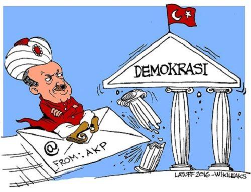 WikiLeaks tiết lộ 300.000 email của đảng cầm quyền Thổ Nhĩ Kỳ - Ảnh 2