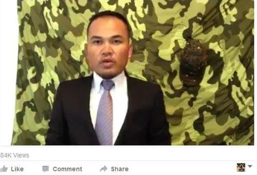 Xác định danh tính kẻ tuyên bố kế hoạch đảo chính tại Campuchia - Ảnh 1