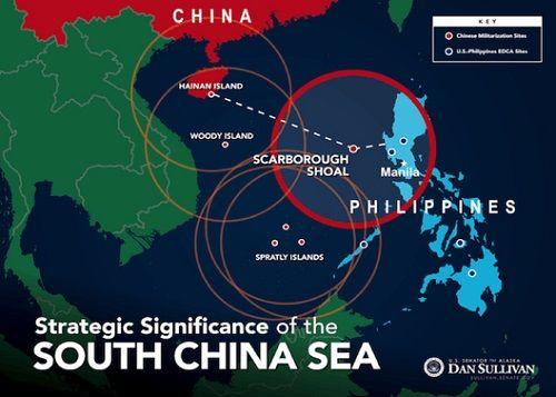 """Tại sao Mỹ """"sợ"""" Trung Quốc cải tạo Scarborough ở Biển Đông? - Ảnh 1"""