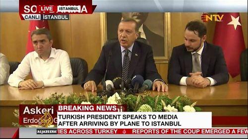 Thổ Nhĩ Kỳ yêu cầu truyền hình Mỹ xin lỗi về thông tin sai trong vụ đảo chính - Ảnh 1