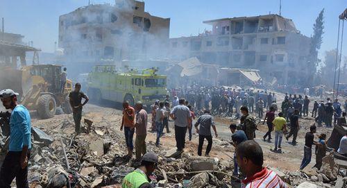 IS đánh bom xe tại Syria, ít nhất 44 người thiệt mạng - Ảnh 2