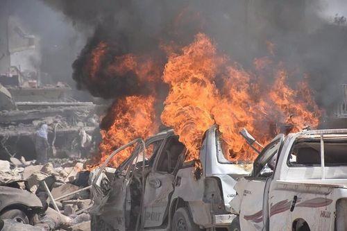 IS đánh bom xe tại Syria, ít nhất 44 người thiệt mạng - Ảnh 1