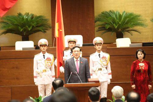 Chánh án Tòa án nhân dân Tối cao tuyên thệ nhậm chức - Ảnh 1