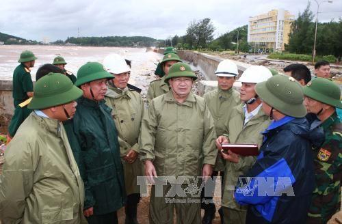Chủ động ứng phó bão số 1, đảm bảo an toàn cho người dân - Ảnh 1