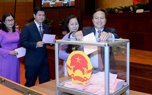 Hôm nay, Quốc hội phê chuẩn các Phó Thủ tướng và thành viên Chính phủ - Ảnh 1