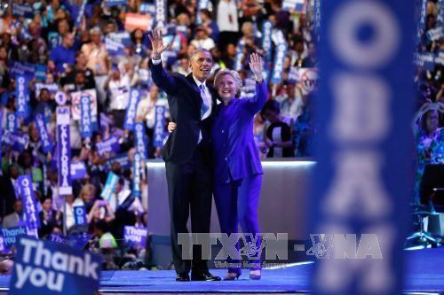 Bế mạc Đại hội Toàn quốc đảng Dân chủ Mỹ - Ảnh 1