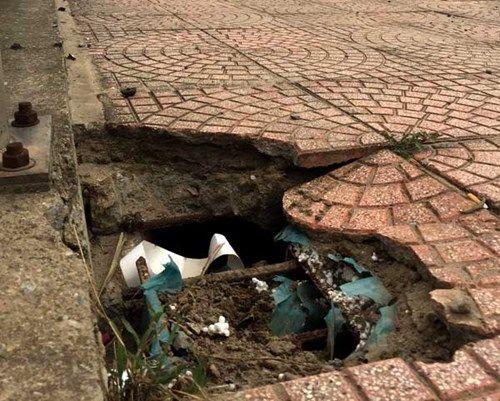 Bê tông cốt xốp ở cầu vượt đường sắt Hà Nội - Ảnh 2