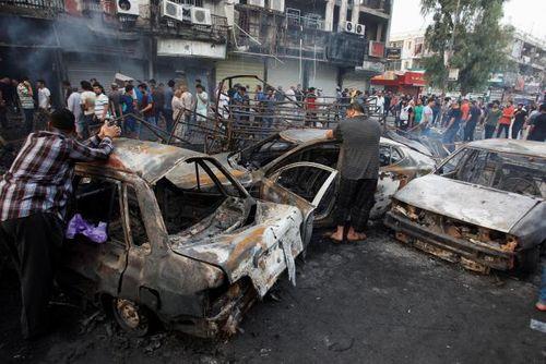 Iraq: IS đánh bom rung chuyển Bangdad, ít nhất 83 người thiệt mạng - Ảnh 1
